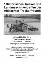 Treckertreffen 2010 -  Aldekerker Treckerfreunde inkl. FOTOGALERIE