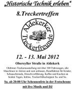 Treckertreffen 2012 - Historische Technik erleben inkl. FOTOGALERIE