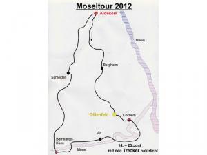2012 Moseltour und Besuch des Treckertreffens in Gillenfeld